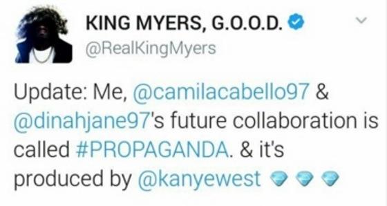 King Myers Camila Cabello 1