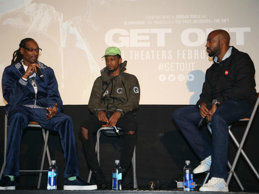 "Snoop Dogg & HipHopDX Host ""Get Out"" Screening In Los Angeles"