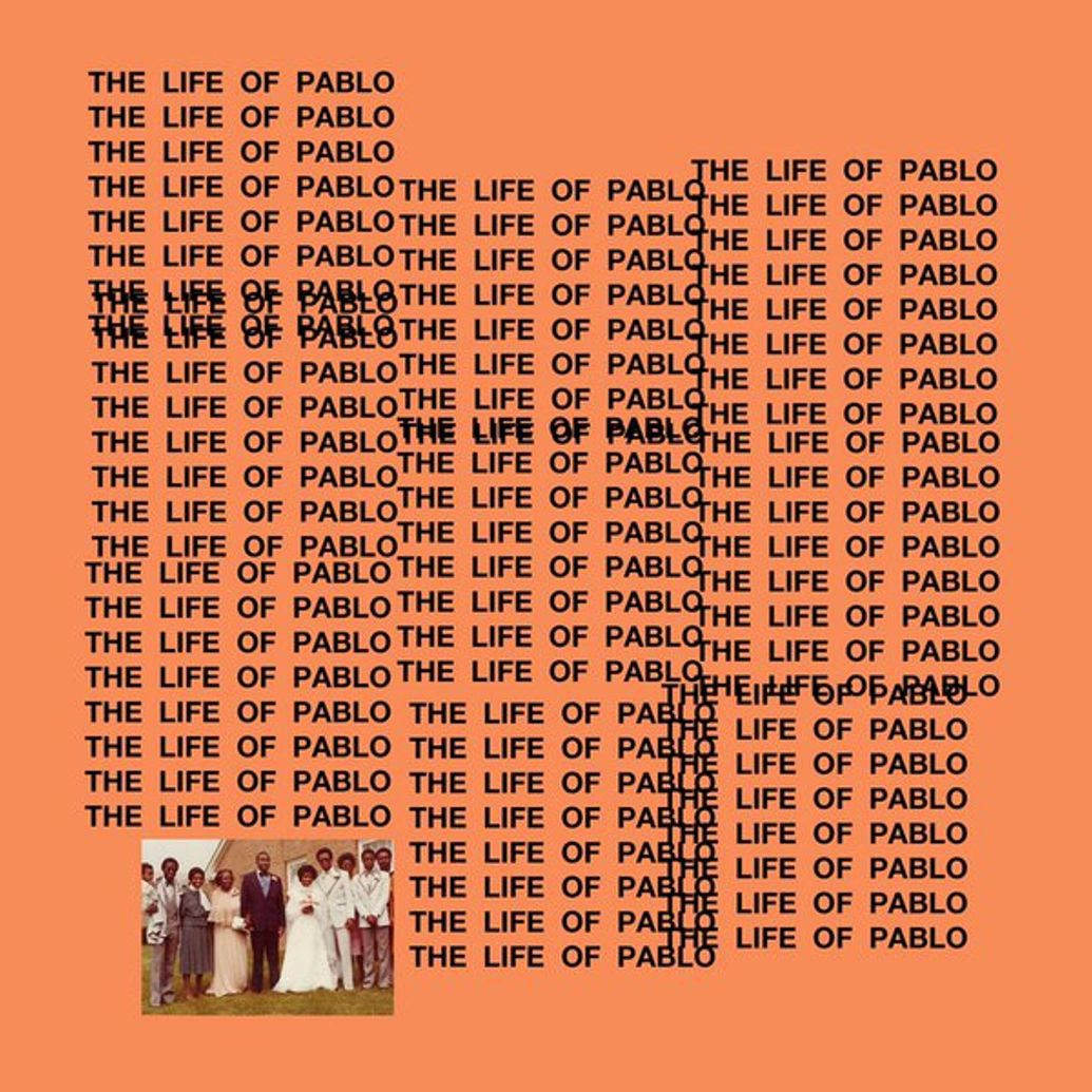 kanye west the life of pablo cover art