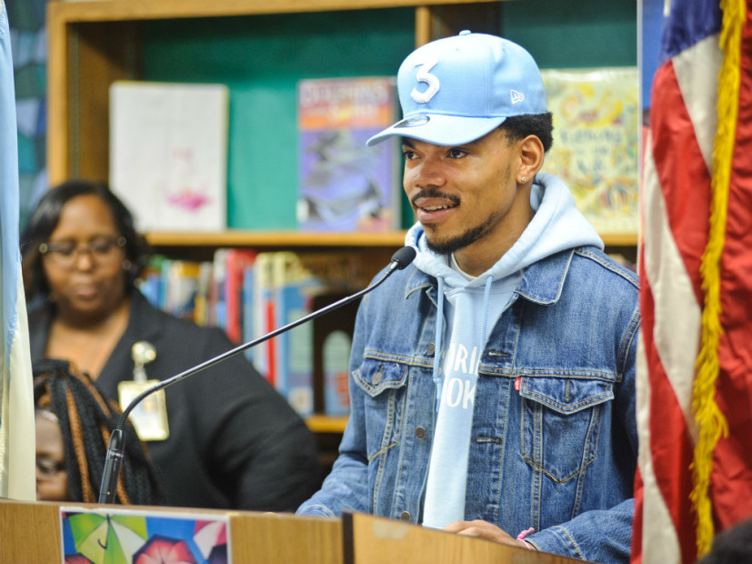 "Chance The Rapper Donates $1M To Chicago Public Schools After ""Unsuccessful"" Meeting With Illinois Governor"