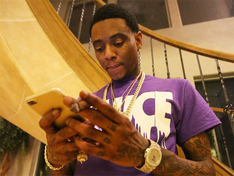soulja boy is beefing with his own family after his