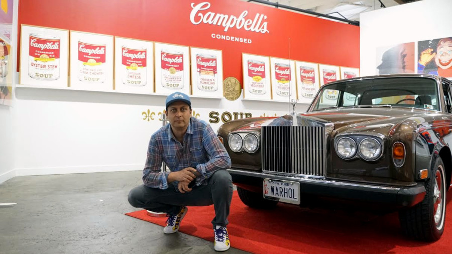 Ron Rivlin Went From Booking Rap Acts To Andy Warhol Collector