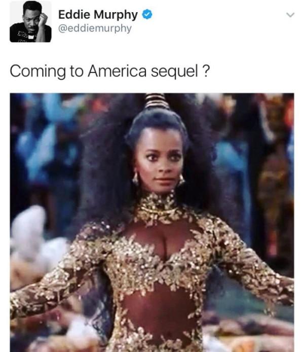 Eddie Murphy Coming To America