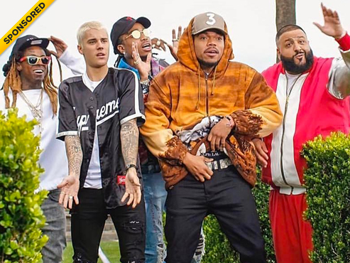 """DJ Khaled Celebrates With All Star Cast & Kandypens In """"I'm The One"""" Video"""