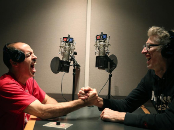 The legendary Radio Personalities Stretch And Bobbito states To the New NPR Podcast