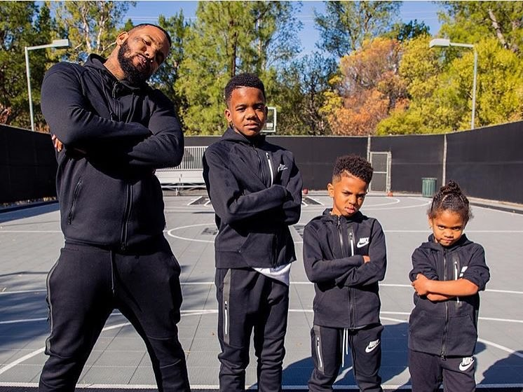 The Game Chooses Lonzo Ball's ZO2: Prime's Over Jordan Sneakers For His Son & Friends