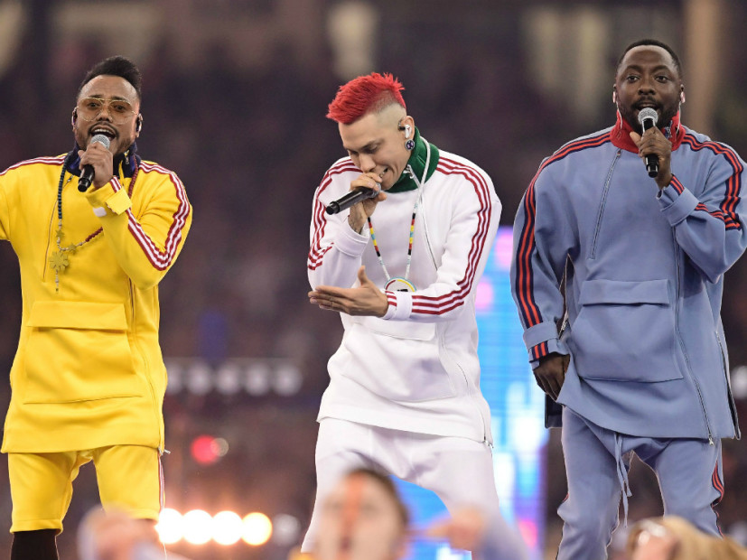 Black Eyed Peas UEFA Champions League Finals Performance Panned By Fans