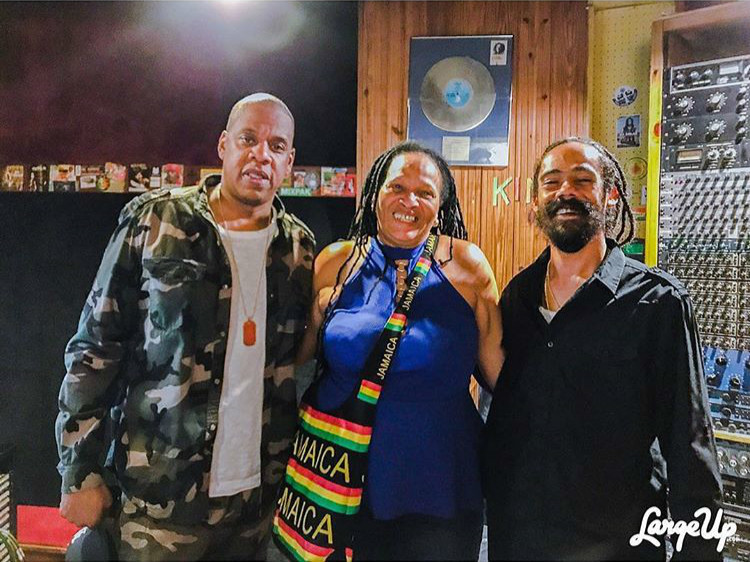 Jay Z & Damian Marley Really Did Work On Music In Jamaica