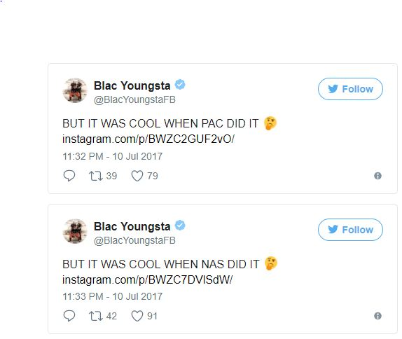 Blac Youngsta Tweets