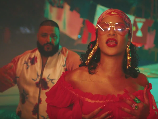 "Hip Hop Single Sales: DJ Khaled's Rihanna & Bryson Tiller-Fueled ""Wild Thoughts"" Debuts At #1"