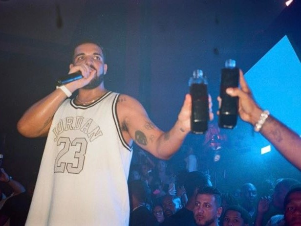 Soda-Stealing Fan Returns To the House of Drake & Allegedly Spits At Cops