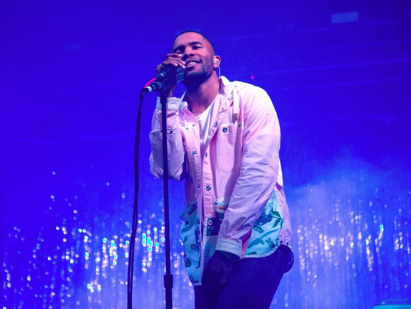 Frank Ocean Brings Out Brad Pitt At FYF Fest