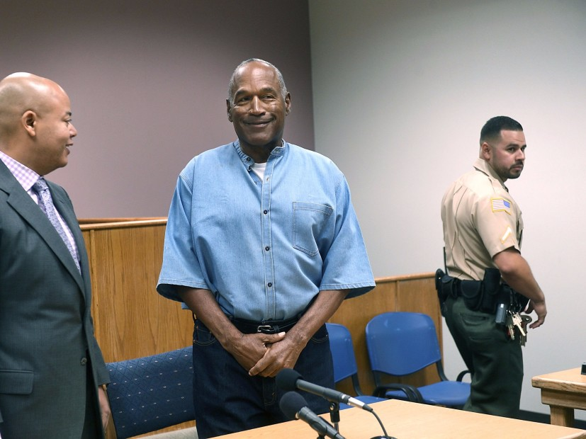 O.J. Simpson Granted Parole After Serving 9 Years In Prison