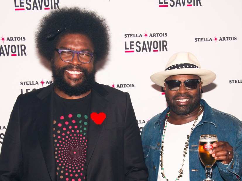 "Questlove and Black Thought production executive of ""The Rap of the Yearbook"" AMC"