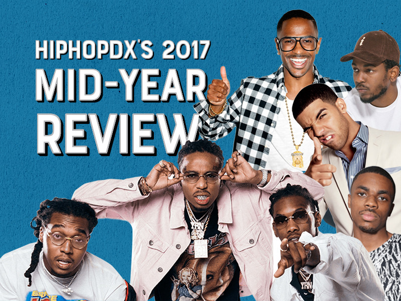 HipHopDX's Top Albums Of 2017 (So Far)