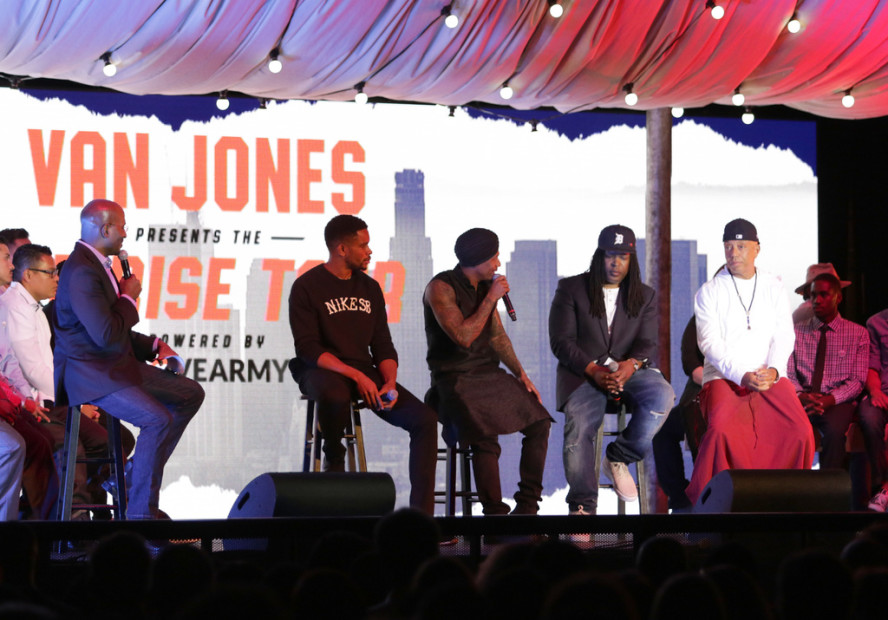 Russell Simmons & Nick Cannon Boost 1st Stop Of Van Jones' WE RISE TOUR Powered By #LoveArmy