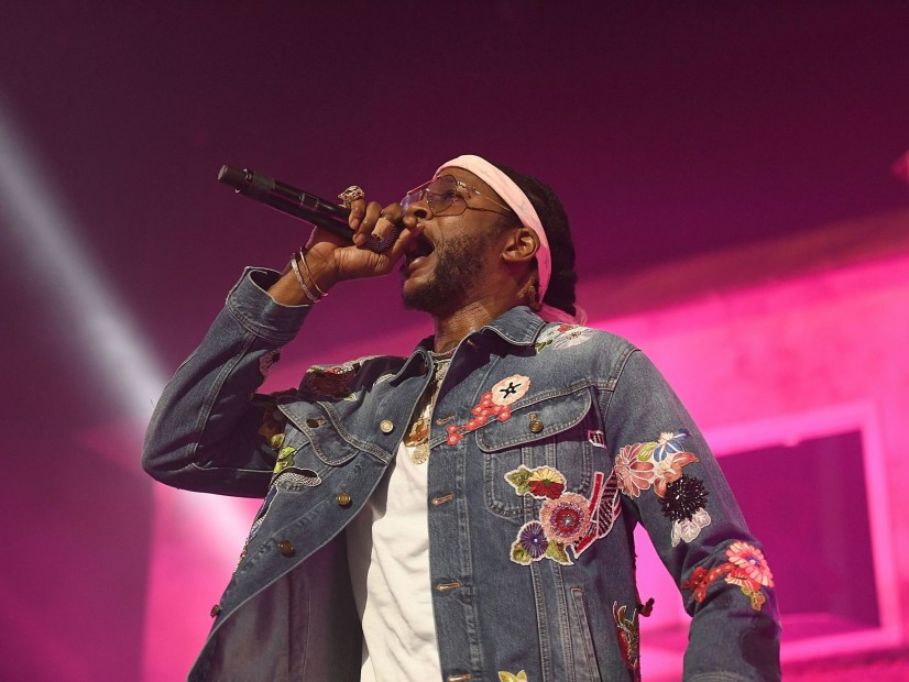 2 Chainz Breaks A Leg, But Continues The Journey In A Pink Wheelchair