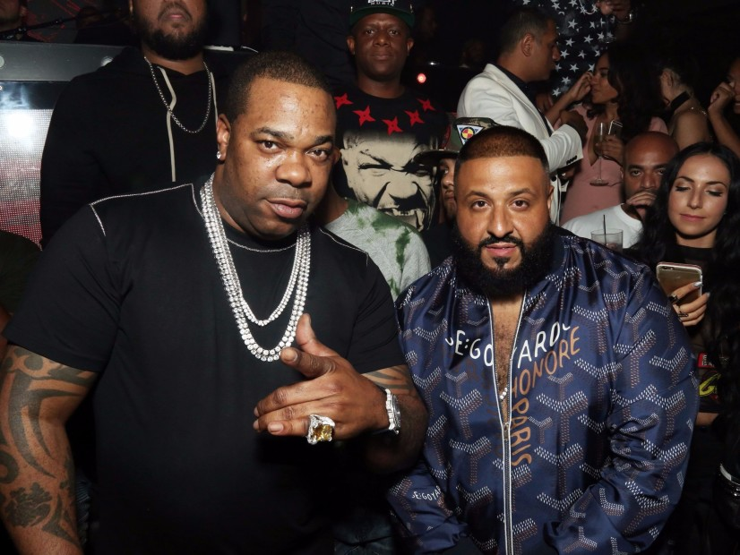 "Busta Rhymes & DJ Khaled Launch of the ""Bride"" of the Dance With the Challenge of the Battle Breakdance"