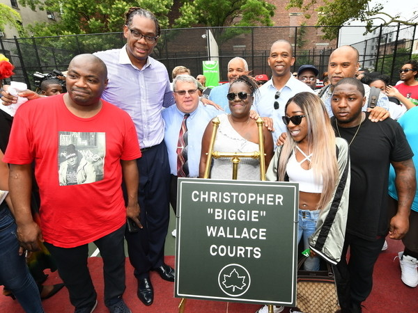 "Feast Your Eyes On The Newly Opened Christopher ""Biggie"" Wallace Courts"