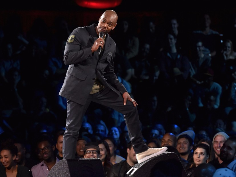 "Dave Chappelle Finally Meets Hot Fire-Spitting ""Making The Band"" Rapper Dylan"