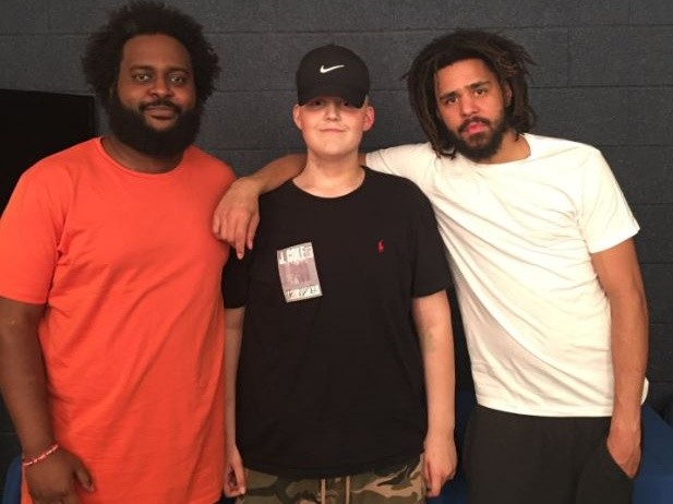 J. Cole & Bas Surprise Fan With A Diagnosis Of Rare Cancer