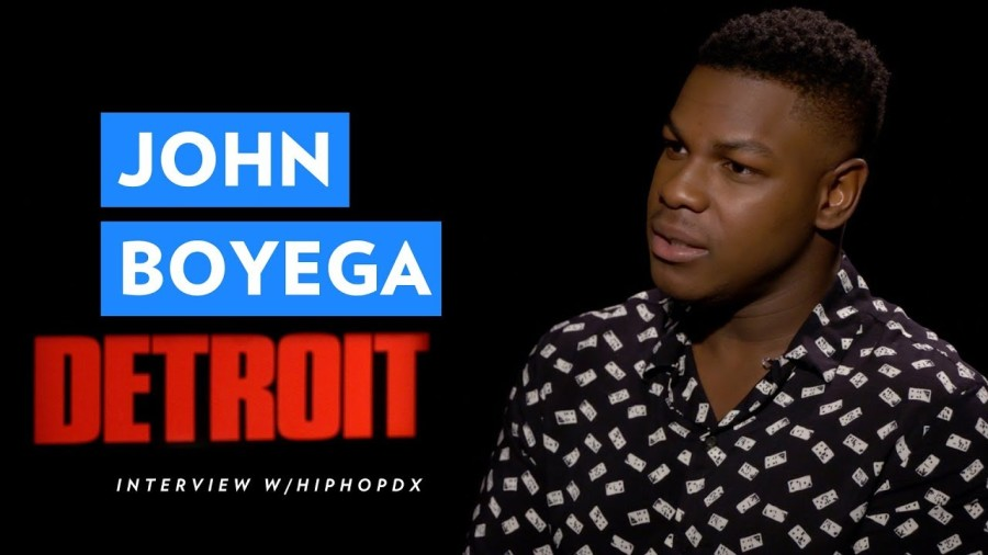 """Detroit"" Actor John Boyega Discusses Racism Systematic"