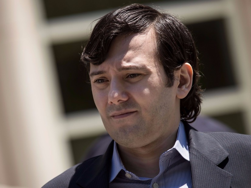 Martin Shkreli Cries As He's Sentenced To 7 Years In Prison