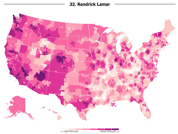 Which Rappers Are Americans Listening To The Most?