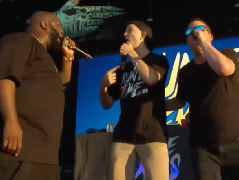 Run The Jewels Give Fan Center Of Attention Of An Entire Life In Lollapalooza, 2017