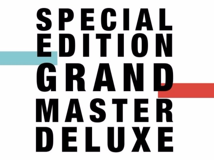 "The Cool Guys Of The Drop Of The Date Of The Publication Of ""Special Edition Grand Master Deluxe"""