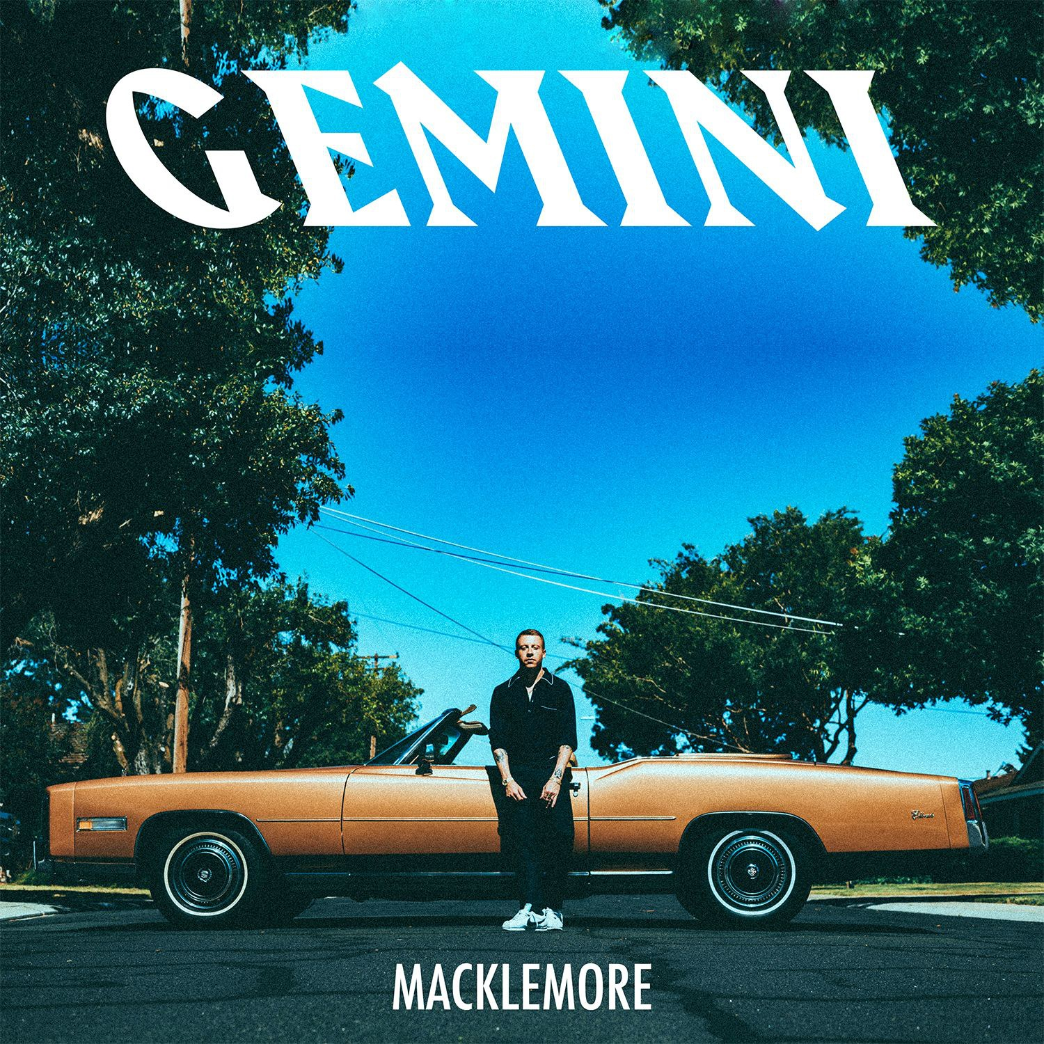 macklemore album cover - Album Review: Macklemore - GEMINI