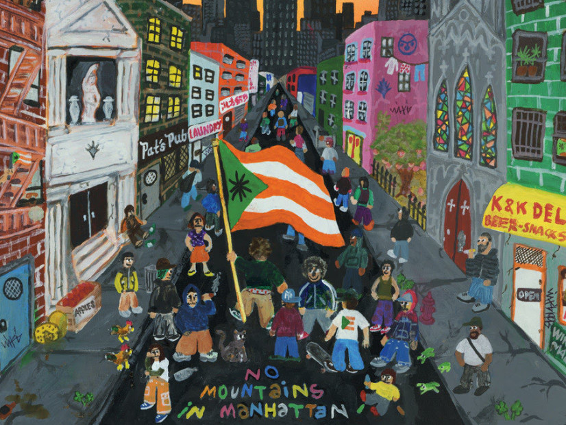 "Wiki Throws ""There Are No Mountains In Manhattan"" Album"