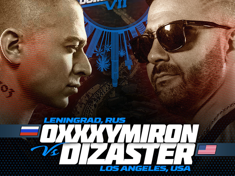 Dizaster vs. Oxxxymiron Is Going Down At KOTD's World Domination 7
