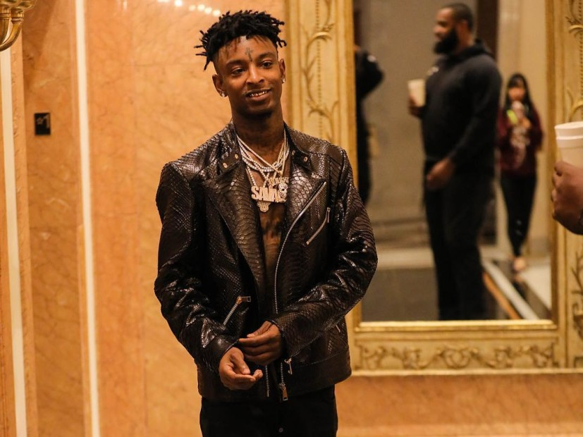 "Hip Hop Single Sales: 21 ""Savage"" Bank Account"" is Officially Certified Platinum"
