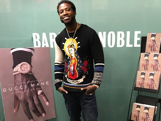 Gucci Mane Accosted By Animal Rights Activists During Book Signing