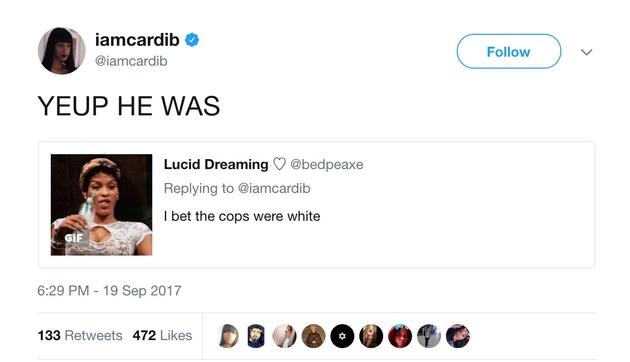 Cardi B tweet 2