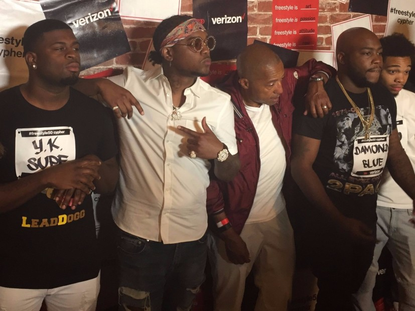 Chicago Spitter Y. K. I Knew Win #Freestyle50 Cypher