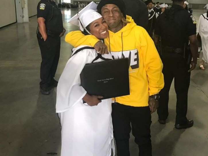 Lil Wayne's Daughter Updates Fans On Her Father's Condition