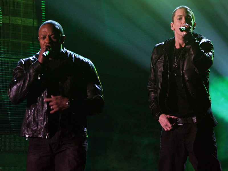 """Eminem And Dr. Dre, According To Reports, The Creation Of New Music For The """"Body"""" Of The Soundtrack"""