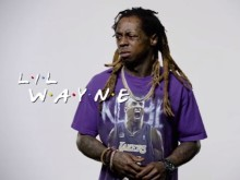 "Lil Wayne Lip Syncs NFL Version Of ""Friends"" Theme"