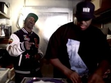 "MC Eiht & DJ Premier Step In A Freezer With Lady Of Rage For ""Heart Cold"" Video"