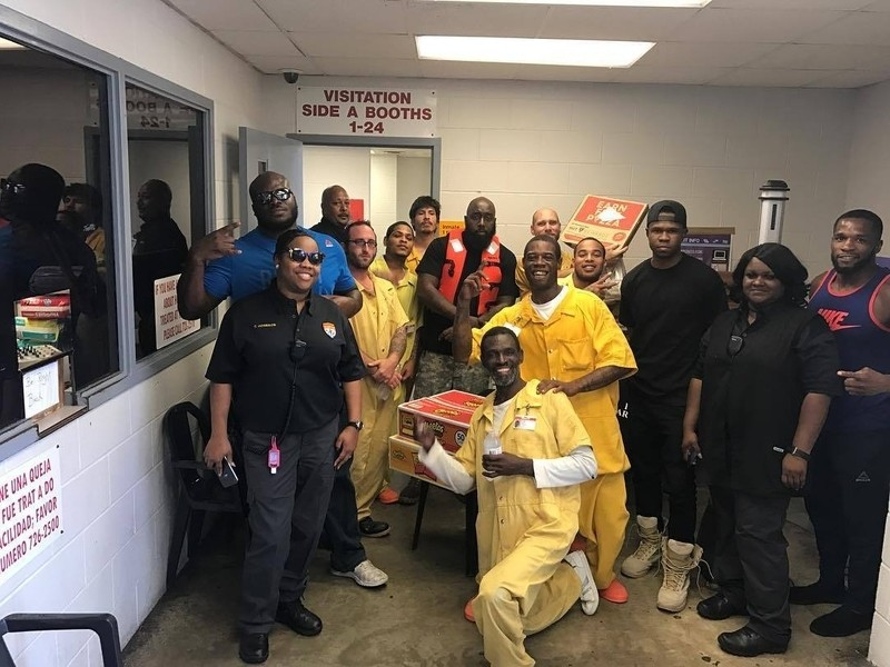 Trae Tha Truth & Chamillionaire Supply Food & Water To Texas Jail Affected By Hurricane Harvey