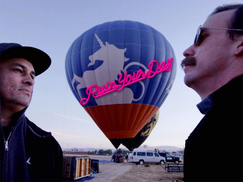 Rap Battles Happen In Hot-Air Balloons Now