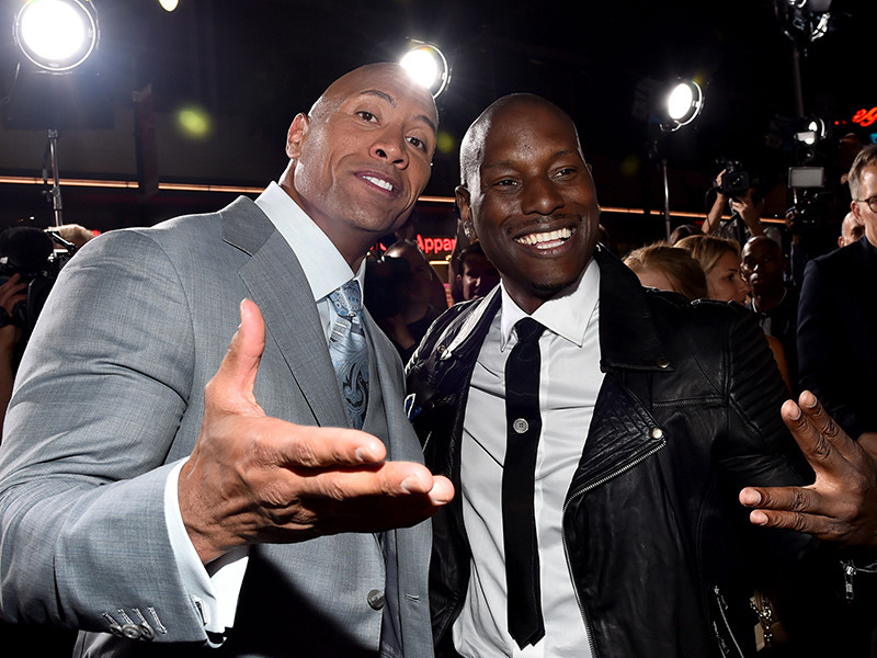 "Tyrese Calls Dwayne Johnson ""A Clown"" For Breaking Up ""Fast & Furious"" Family"