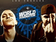 Watch Oxxxymiron Vs. Dizaster Battle From KOTD's World Domination 7