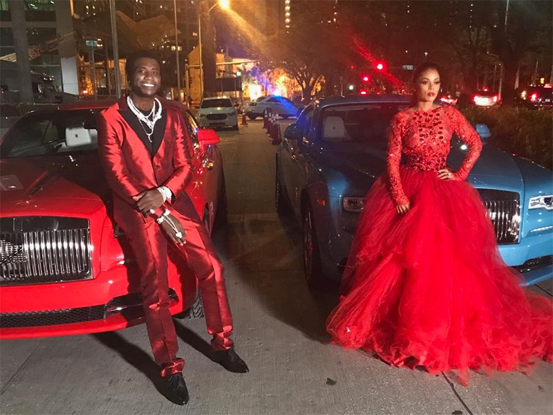 Gucci Mane Buy His & Hers Rolls-Royce Phantoms In Front Of The Wedding