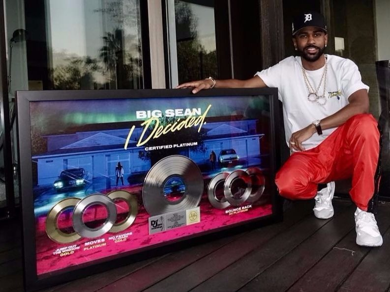 "Big Sean ""Decided"" Goes Platinum"