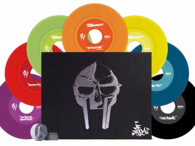 "MF Doom ""Operation: doomsday"" was re-released As a Limited Edition Deluxe 7-Inch Collection"