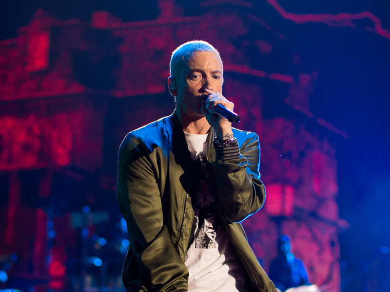 Eminem Unveils Album Title In Fake Drug Ad