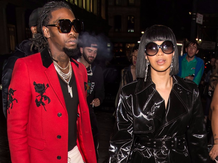 Image result for cardi b and Offset back together